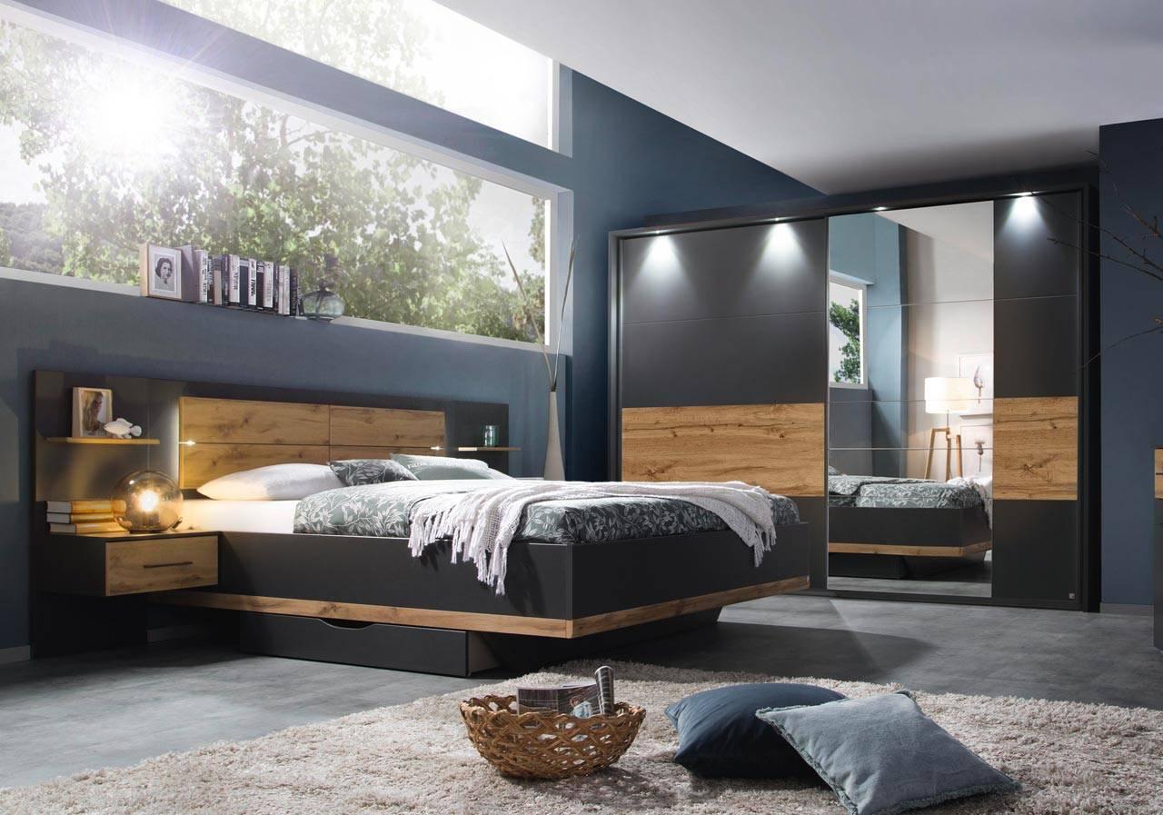 Full Size of Komplett Schlafzimmer Günstig Set 4 Teilig Grau Gnstig Online Kaufen Luxus Rauch Sessel Regal Sitzbank Kommode Esstisch Einbauküche Lampe Komplette Günstige Schlafzimmer Komplett Schlafzimmer Günstig
