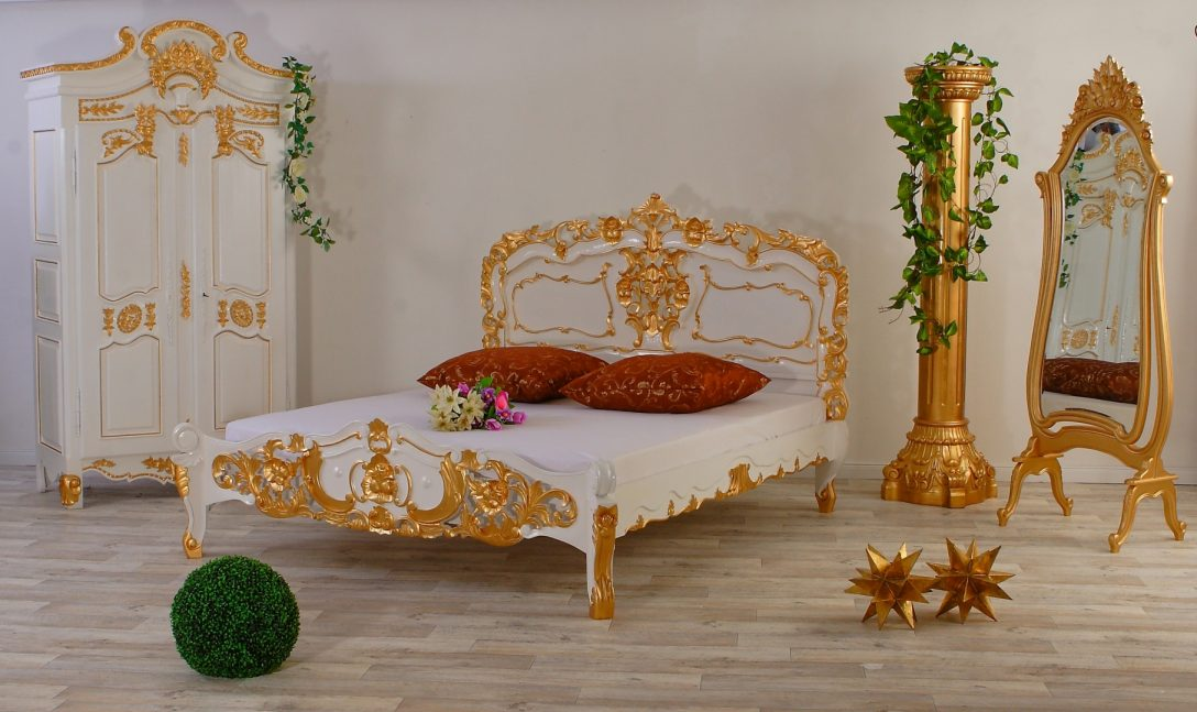 Large Size of Luxus Rokoko Bett Weiss Gold Lionsstar Gmbh 200x220 Betten Günstig Kaufen Hasena Nussbaum Berlin Breit Boxspring Lifetime 200x200 Kopfteil Selber Machen Bett Luxus Bett