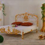Luxus Bett Bett Luxus Rokoko Bett Weiss Gold Lionsstar Gmbh 200x220 Betten Günstig Kaufen Hasena Nussbaum Berlin Breit Boxspring Lifetime 200x200 Kopfteil Selber Machen