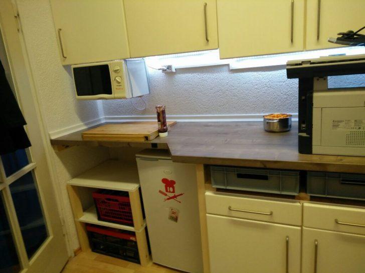 Medium Size of Küche Erweitern Binary Kitchen On Renovierungswochenende Mehr Space Im Gardinen Für Die Grifflose Eiche Wandtatoo Ikea Kosten Obi Einbauküche Bodenbeläge U Küche Küche Erweitern