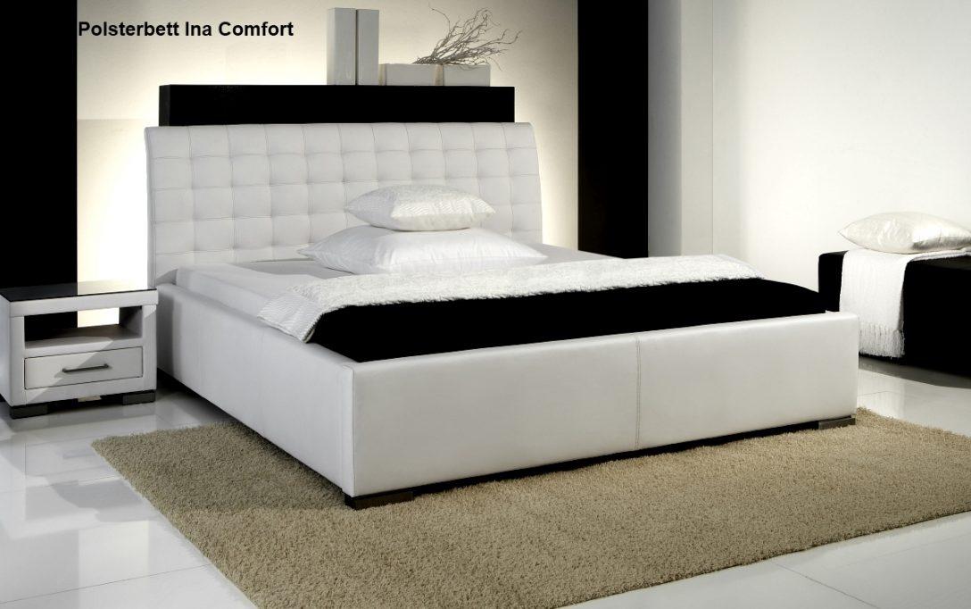 Large Size of Günstige Betten Luxus Leder Bett Polsterbett Doppelbett Ehebett Farbe Weiss Oder Teenager Paradies Günstig Kaufen 180x200 Mit Bettkasten Designer Wohnwert Bett Günstige Betten