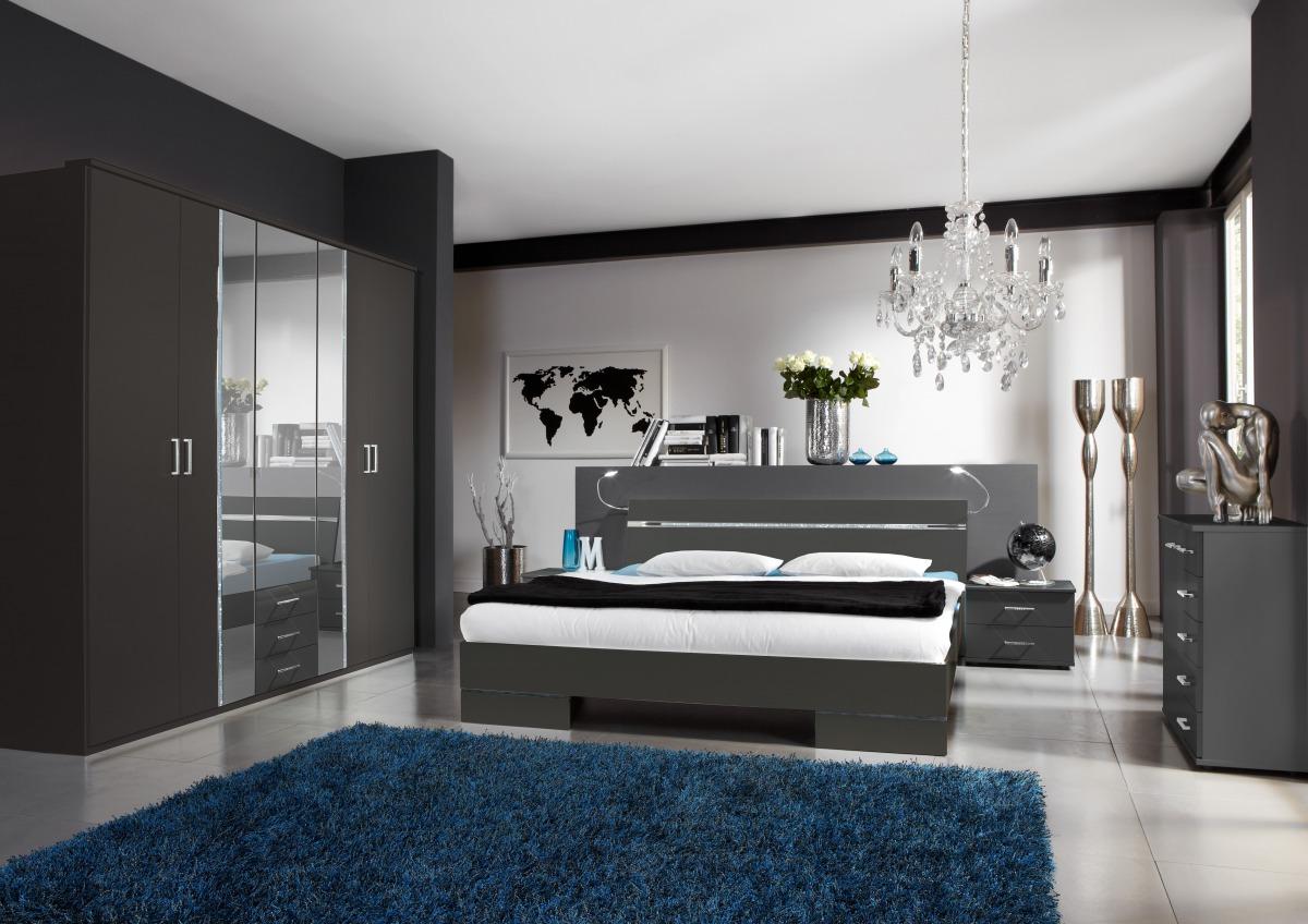 Komplette Schlafzimmer Komplett Modern Komplettes Tapeten Günstige ...