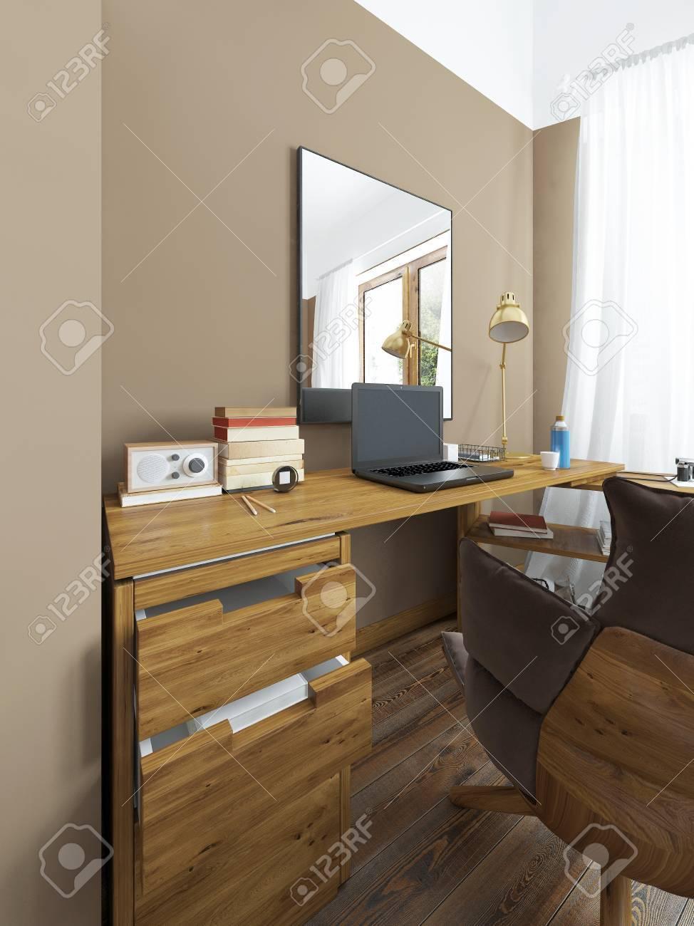 Full Size of Schlafzimmer Massivholz Schreibtisch In Einem Regal Vorhänge Set Mit Boxspringbett Komplett Weiß Guenstig Sitzbank Nolte Eckschrank Stuhl Für Luxus Schlafzimmer Schlafzimmer Massivholz