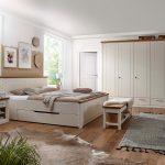 Schlafzimmer Komplett Provence Bett Kleiderschrank Nachtschrank Deckenleuchte Set Mit Boxspringbett Wandlampe Massivholz Esstisch Klimagerät Für Landhaus Schlafzimmer Massivholz Schlafzimmer