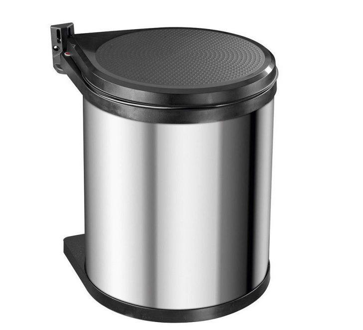 Einbau Mülleimer Küche Hailo Mono Swing 3515 03 Kchen Mlleimer Mit 15 Liter Inhalt Einrichten Grifflose Pendelleuchten Landhausstil Fliesenspiegel Küche Einbau Mülleimer Küche