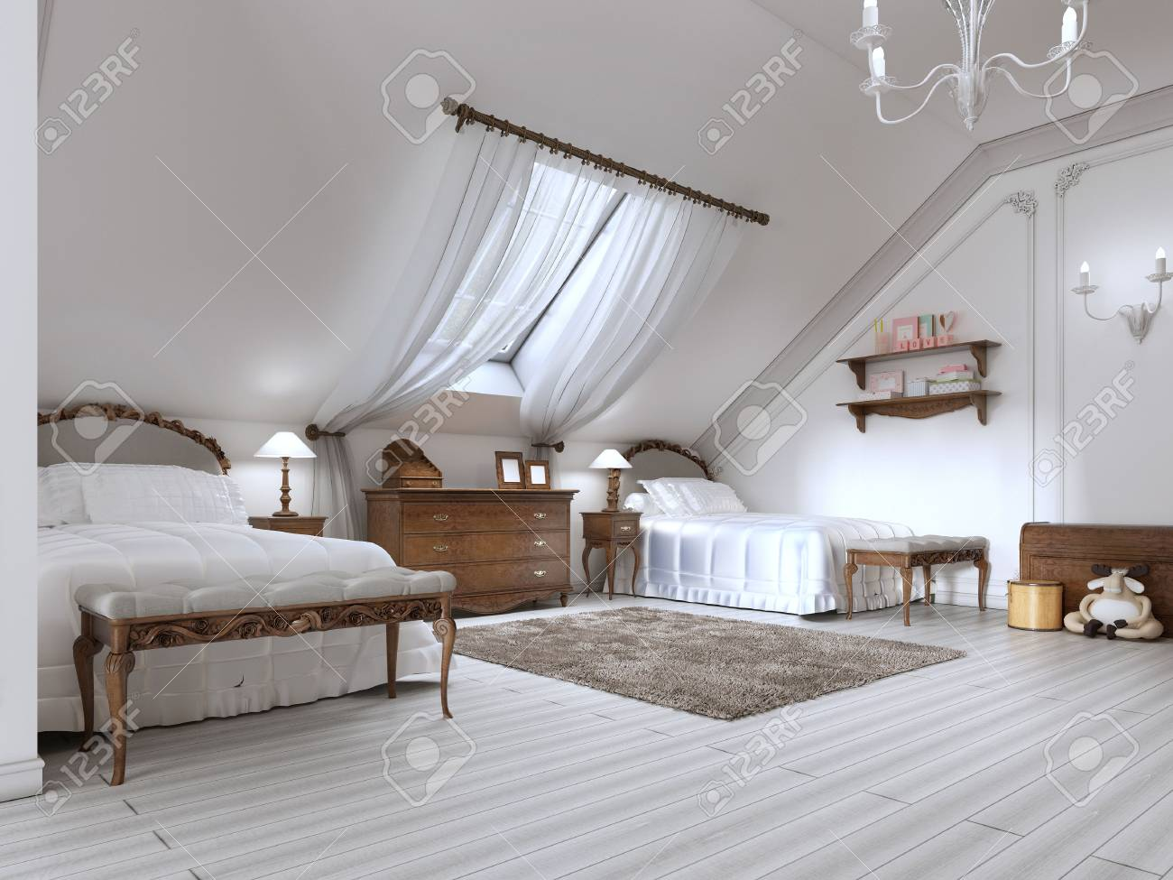 Full Size of Weiße Betten Luxus Mit Zwei Und Ein Dachfenster Holz Braun Musterring 90x200 Möbel Boss Wohnwert Amazon 180x200 Moebel Coole Schramm Weißes Bett 160x200 Bett Weiße Betten