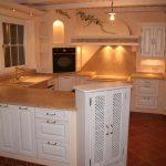 Gemauerte Landhauskchen Landhausküche Weiß Moderne Weisse Grau Gebraucht Küche Landhausküche