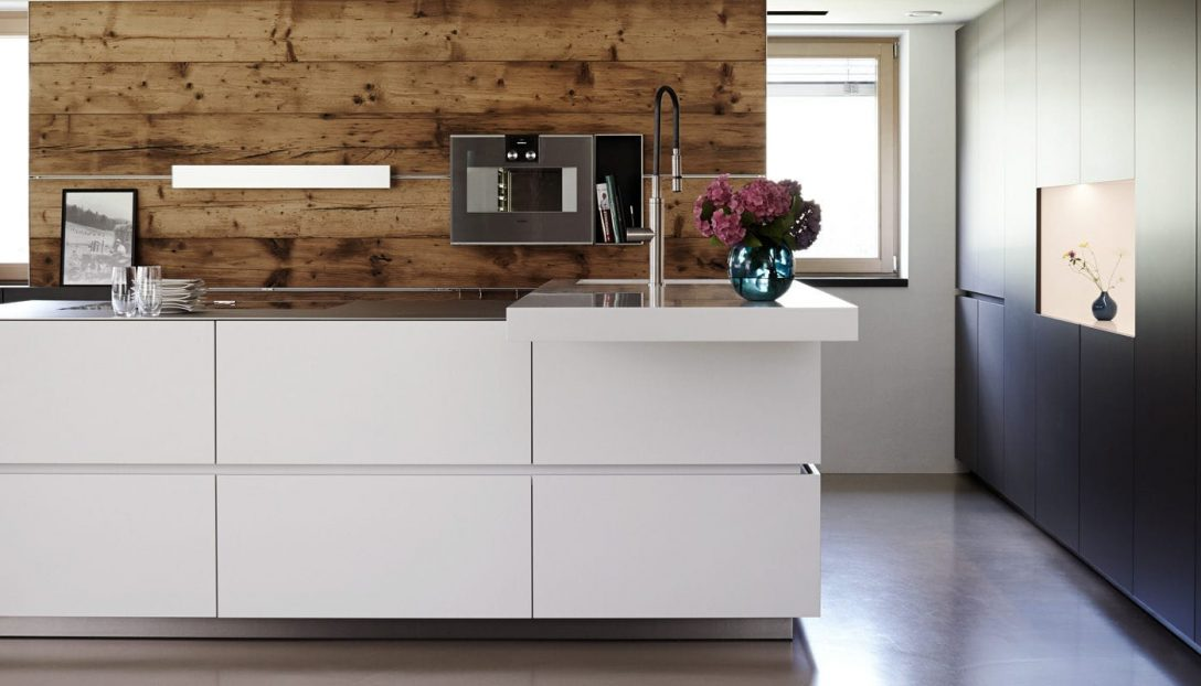 Large Size of Contemporary Kitchen / Stainless Steel / Island / High Gloss Küche Laminat In Der Küche