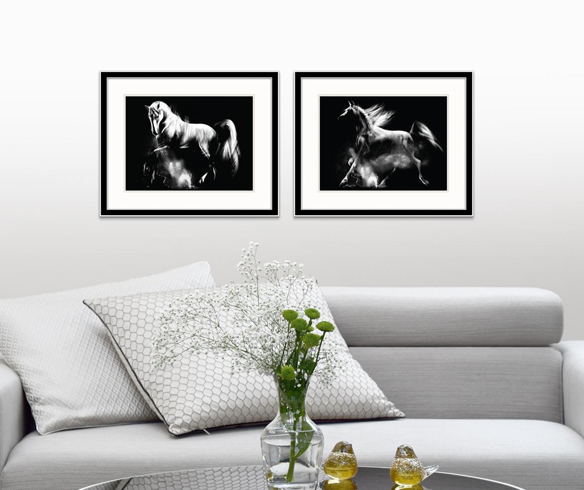 Full Size of Pferd Serie Wien 2 Gemaumllde Fuumlrs Wohnzimmer Handgemalte Moderne Deckenleuchte Sideboard Teppich Gardine Deckenlampen Stehlampe Wandtattoo Bilder Modern Wohnzimmer Wandbilder Wohnzimmer
