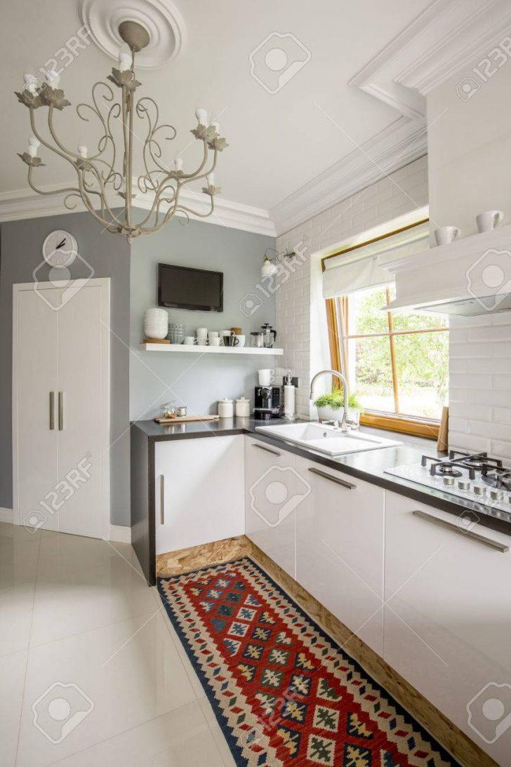 Medium Size of Open Plan Kitchen With Patterned Carpet Küche Teppich Küche