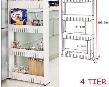 Küche Aufbewahrung Küche Nischenregal Küche New Nischenregal Nischenwagen Küchenwagen Rollwagen Regalwagen