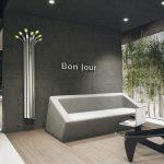 Heizkörper Wohnzimmer Wohnzimmer Hot Water Radiator / Free Standing / Bamboo / Vertical