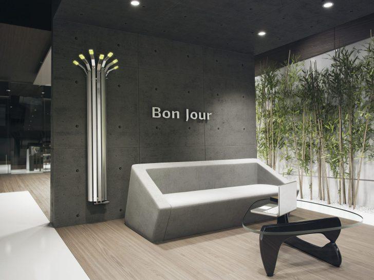 Medium Size of Hot Water Radiator / Free Standing / Bamboo / Vertical Wohnzimmer Heizkörper Wohnzimmer