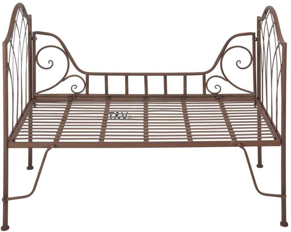 Full Size of Bett Metall Esschert Design Garten Mf017 8714982115660 Möbel Boss Betten Mit Ausziehbett Bette Starlet Sonoma Eiche 140x200 90x200 Weiß Weißes Gepolstertem Bett Bett Metall