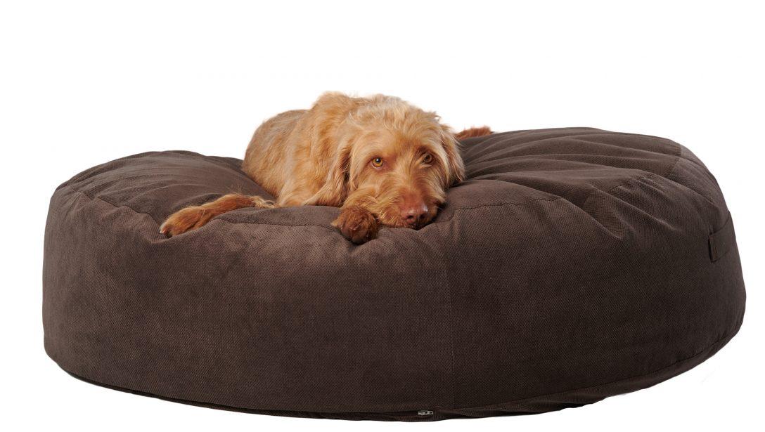 Large Size of Hundebett Holz Flocke 90 Cm Kunstleder Xxl Rund Pouf Luxus Schlafende Hunde Shop Sofa Mit Bettfunktion Betten Kaufen Kleinkind Bett Schlafzimmer Barock Weiß Bett Hunde Bett