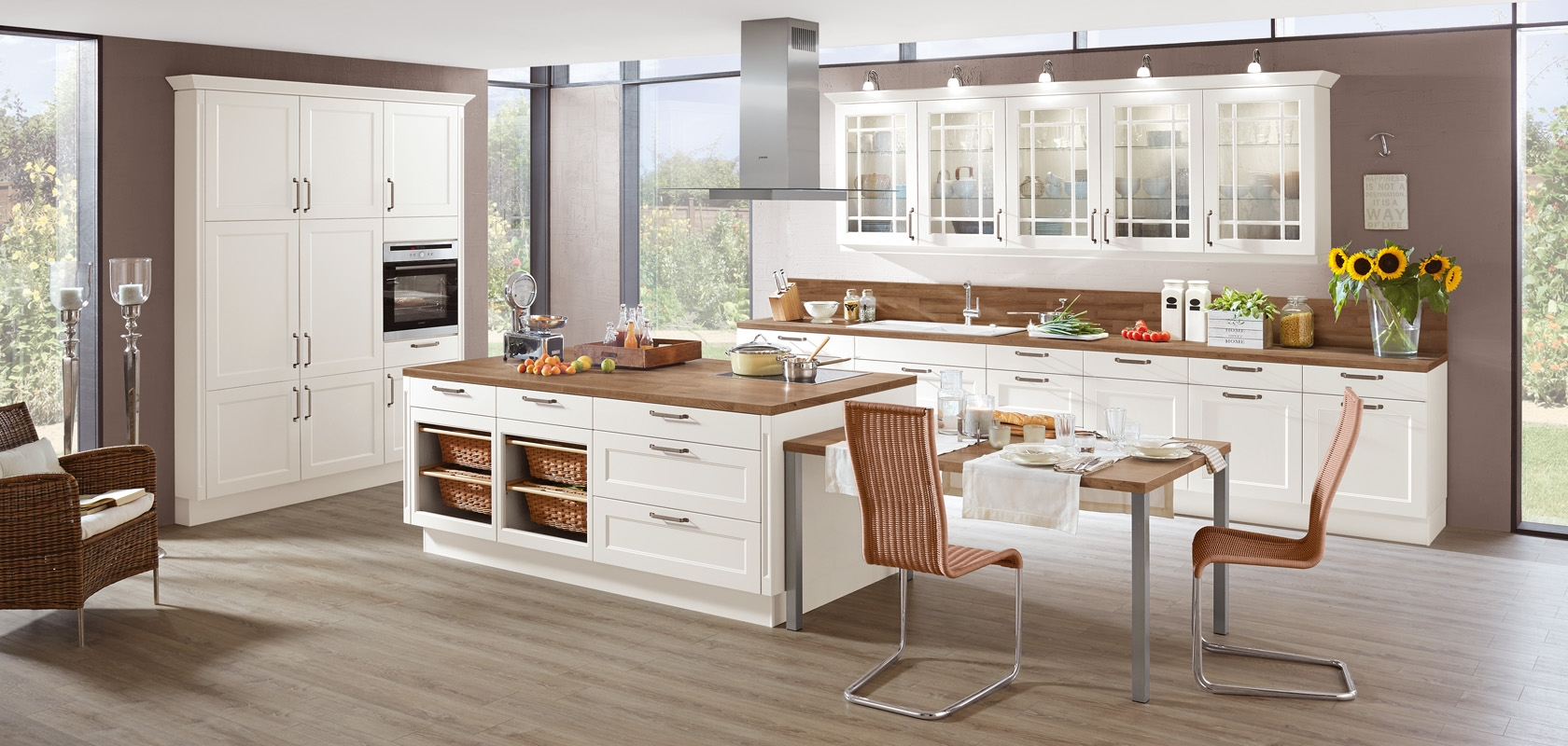 Full Size of Landhausküche Landhauskche Vorwrts Zurck In Romantik Ihr Weiß Gebraucht Grau Moderne Weisse Küche Landhausküche