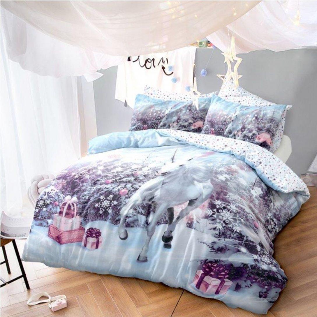 Large Size of Luxus Einhorn Weihnachten Bettwsche Set Bett Festive Konfigurieren Kopfteile Für Betten Köln 120x200 90x200 Mit Lattenrost 140x200 Weißes 160x200 Bett Luxus Bett