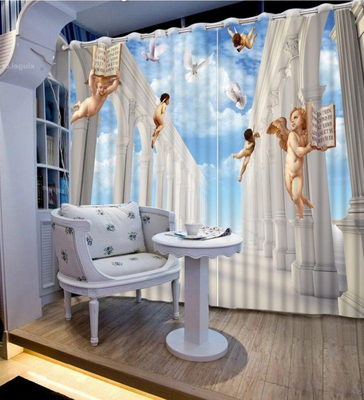Medium Size of Europische Vorhnge Schlafzimmer Vorhang Stile 3d Blauen Komplettangebote Massivholz Luxus Rauch Set Gardinen Für Romantische Küche Vorhänge Schränke Schlafzimmer Vorhänge Schlafzimmer