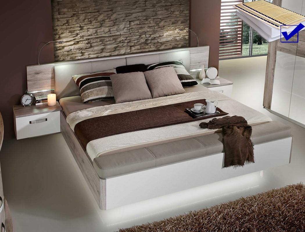 Full Size of Schlafzimmer Betten Doppelbett Rubio 1 Sandeiche Wei 180x200 Bett Led Nako Rost Jugend Deckenleuchte Modern Frankfurt Kaufen Tempur Set Wandtattoos Vorhänge Schlafzimmer Schlafzimmer Betten