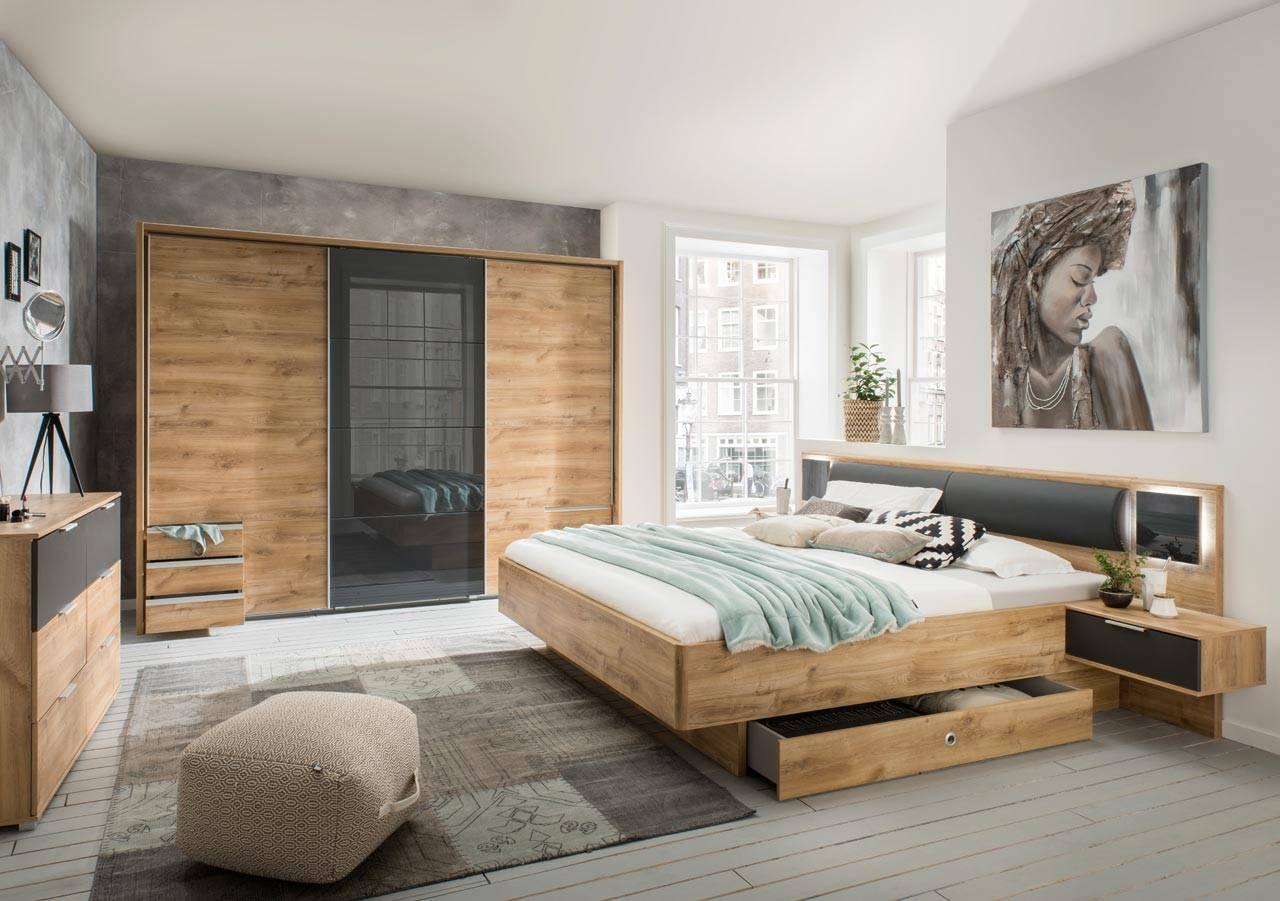 Full Size of Schlafzimmer Komplett Set 2 Teilig Plankeneiche Gnstig Online Schrank Komplette Bett Kaufen Günstig Tapeten Deckenleuchten Betten Günstiges Sofa Kommode Schlafzimmer Schlafzimmer Set Günstig