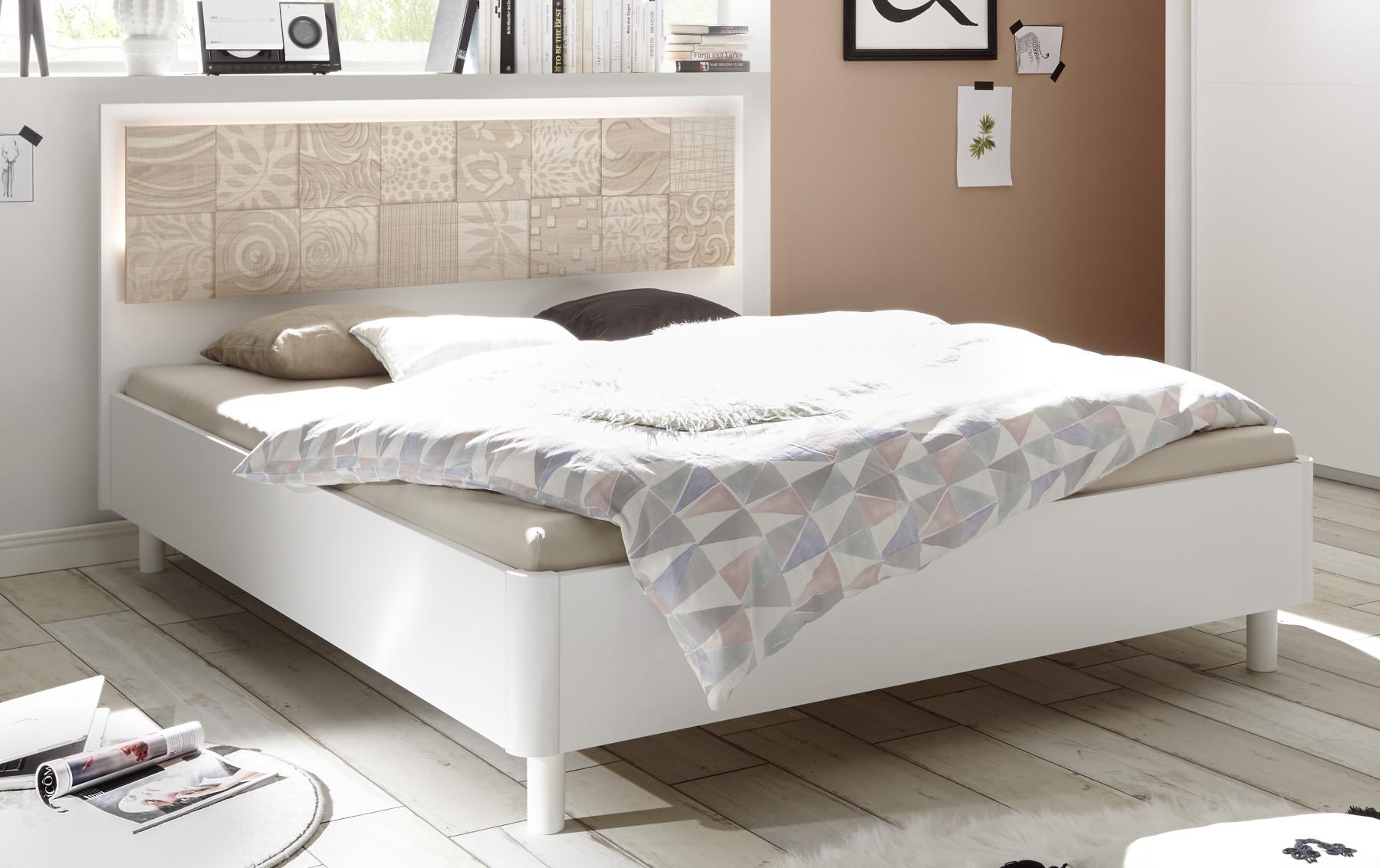 Full Size of Doppelbett Weiss Eiche Siebdruck Xaria24 Designermbel Moderne Billige Betten Bett Barock Mit Matratze Und Lattenrost Rustikales Im Schrank Antik Amazon Bett Bett 180x200 Weiß