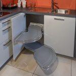 Küche Eckschrank Küche Praktischer Lemans Eckschrank Ausstellungskche Jetzt Nur 3990 Einbauküche L Form Küche Günstig Kaufen Holzküche Hängeschränke Einlegeböden Grau