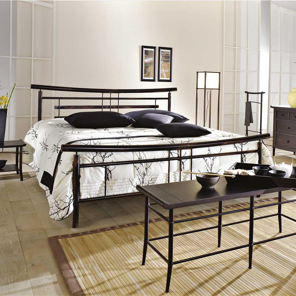 Full Size of Metall Bett Dirinon Aus Im Asia Design Pharao24de 180x200 Mit Bettkasten 90x190 Ausklappbares Wand Inkontinenzeinlagen Betten 90x200 200x200 Weiß Flexa Bett Metall Bett