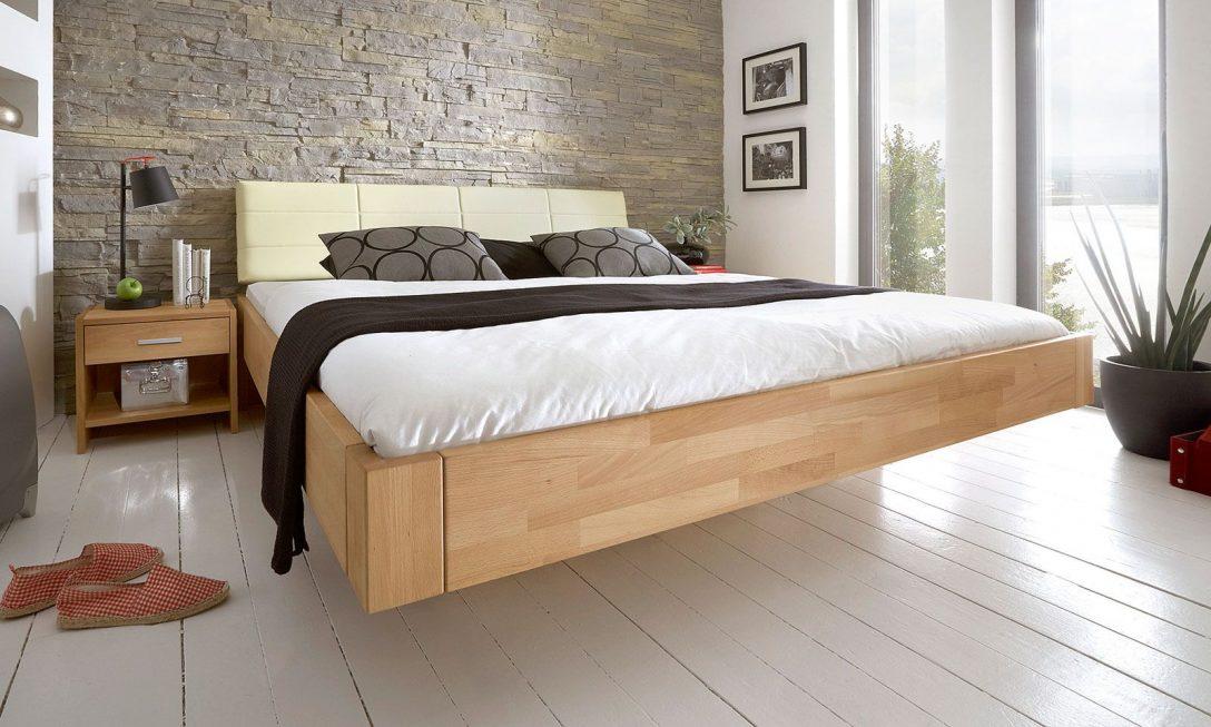 Large Size of Ein Bett Mit Schweberahmen Ist Immer Besonderer Blickfang So Bett Betten.de