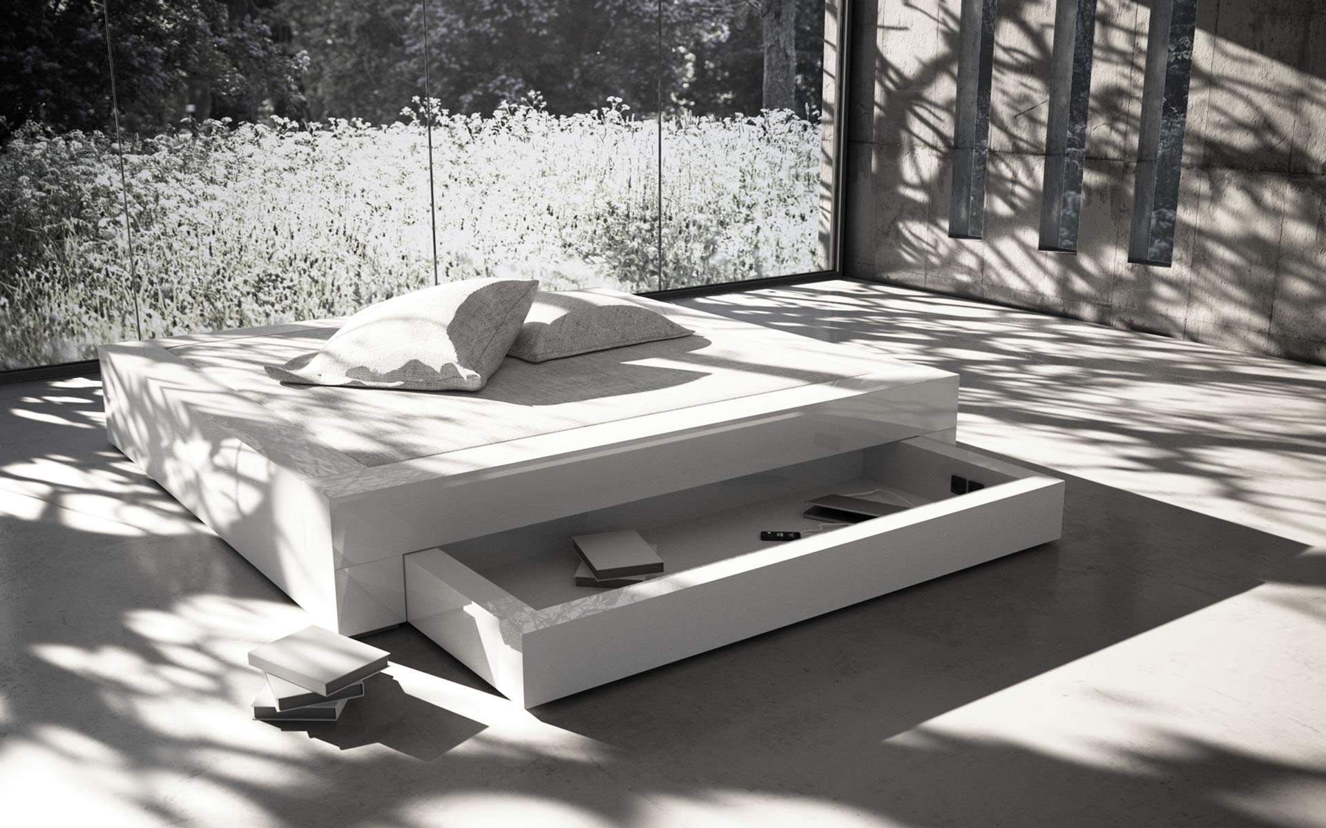 Full Size of Bett Modern Design Italienisches Puristisch Nussbaum 180x200 200x200 Weiß Dänisches Bettenlager Badezimmer Weisses Küche Industriedesign Keilkissen 140x200 Bett Bett Modern Design