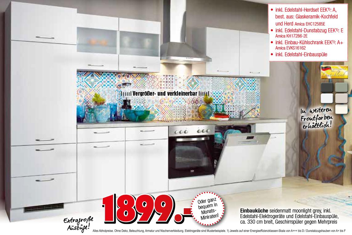 Full Size of Respekta Küche Küchenzeile Küchenblock Einbauküche Komplettküche Weiß 320 Cm Miele Komplettküche Komplettküche Angebot Roller Komplettküche Küche Einbauküche Ohne Kühlschrank