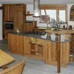 Vollholzküche Kchenbilder Impressionen Der Pfister Mbelwerkstatt Küche Vollholzküche