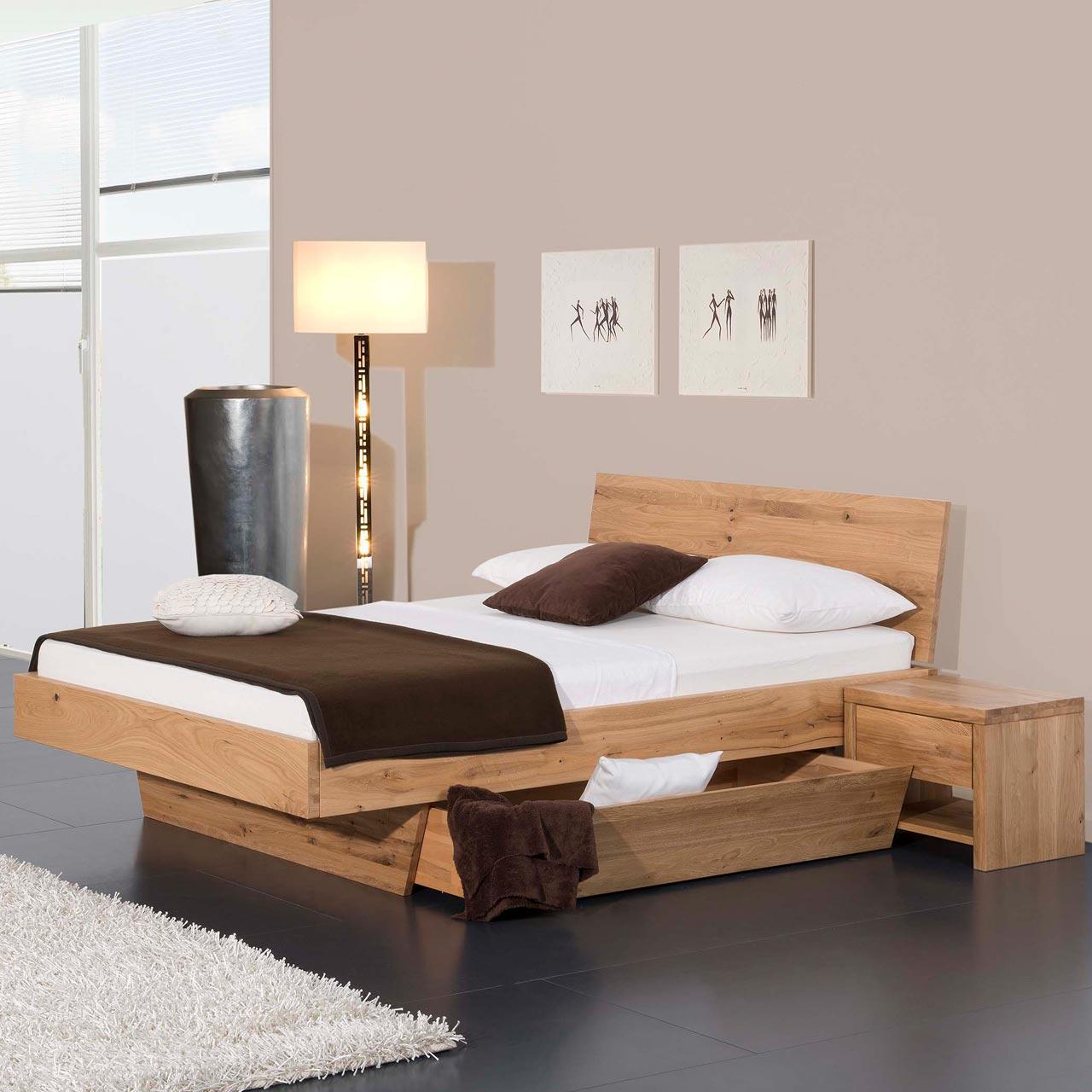 Full Size of Modular Massivholzbett Natura Plus Matino Mit Bettkasten Bett Betten.de