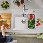 Keramik Waschbecken Küche Miniküche Mit Kühlschrank Küchen Regal Ebay Armatur Modern Weiss Raffrollo L E Geräten Magnettafel Was Kostet Eine Neue Küche Keramik Waschbecken Küche