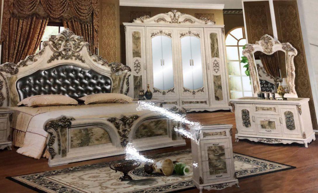 Large Size of Schlafzimmer Barock Komplett Schrank Bett Atris 24 Weiß Weiss Mit Lattenrost Und Matratze Hängeschrank Küche Glastüren Unterschrank Bad Holz Regal Schlafzimmer Schrank Schlafzimmer