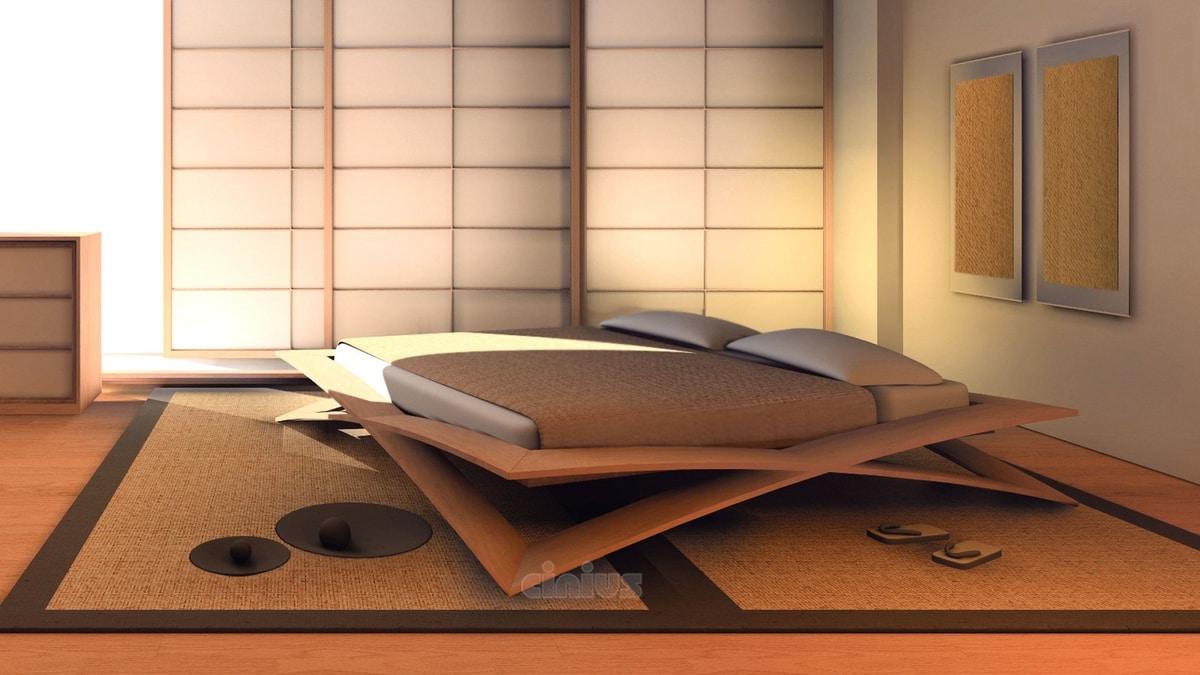 Full Size of Japanisches Bett Kirschholzbett Idfdesign 90x200 Weiß Mit Schubladen Pinolino Bettwäsche Sprüche 140x200 190x90 Minimalistisch Schöne Betten 180x200 Bett Japanisches Bett