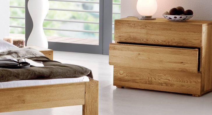 Medium Size of Massivholz Kommode Aus Massiver Eiche Mit 3 Schubladen Natura Komplettes Schlafzimmer Wandbilder Komplett Lattenrost Und Matratze Komplettangebote Wandleuchte Schlafzimmer Schlafzimmer Kommoden
