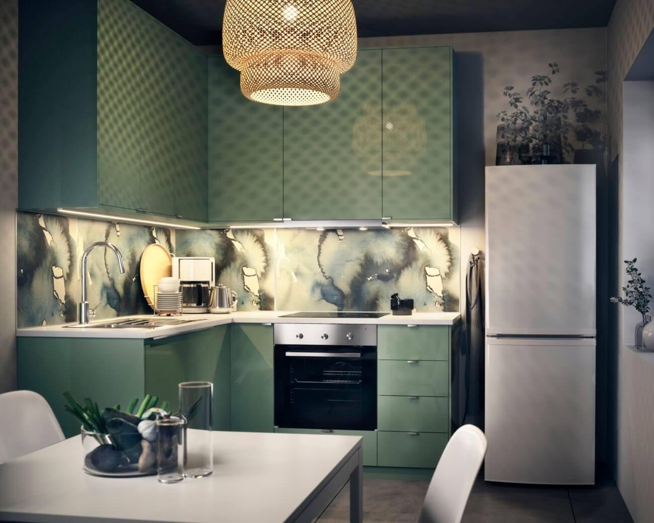Full Size of Salbeigrün Küche Küche Grün Dekorieren Küche Grün 70er Küche Wandgestaltung Grün Küche Küche Mintgrün