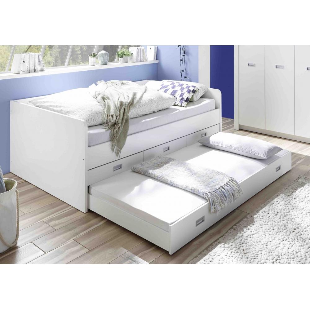 Full Size of Bett Weiß 120x200 Alaska Wei 120 200 Cm Jugendbett Kinderbett Tandemliege Pinolino 90x200 Rückenlehne Stauraum 200x200 Regal Metall 90x190 Einfaches Betten Bett Bett Weiß 120x200