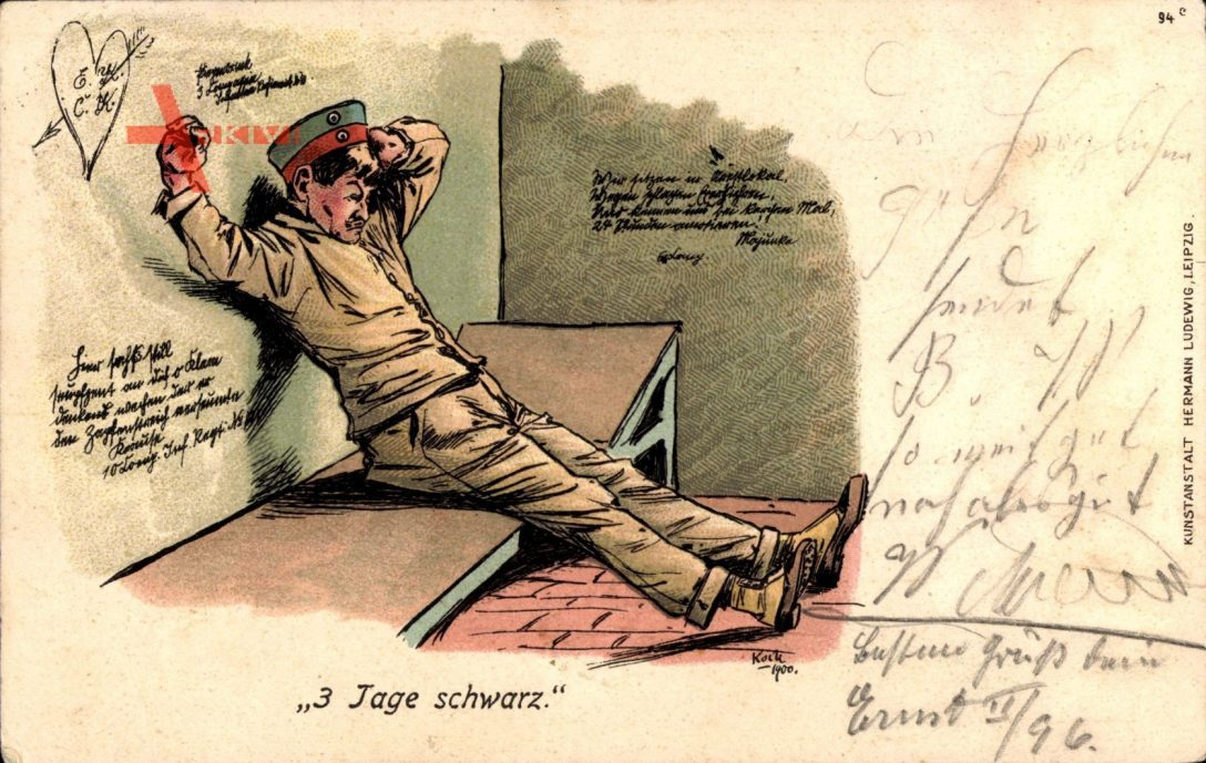 Large Size of 3 Tage Schwarz, Soldat Im Gefängnis, Bett, Wandsprüche Küche Wandsprüche