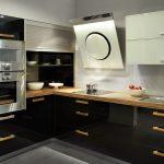 Schwarze Küche Dekorieren Schwarze Küche Matt Putzen Schwarze Küche Mit Holzarbeitsplatte Schwarze Küche Industrial Küche Schwarze Küche
