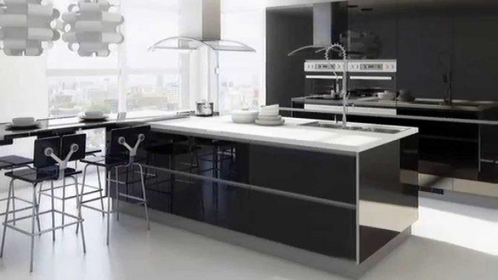 Medium Size of Schwarze Küche Einrichten Schwarze Küche Sauber Machen Schwarze Küche Wandfarbe Schwarze Küche Grifflos Küche Schwarze Küche