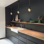 Schwarze Küche Küche Schwarze Küche Fingerabdrücke Schwarze Küche Gebraucht Schwarze Küche Bedeutung Wandgestaltung Schwarze Küche