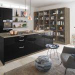 Schwarze Küche Küche HyperFocal: 0