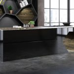 Schwarze Küche Küche Schwarze Küche Mit Holzarbeitsplatte Schwarze Küche Aufpeppen Schwarze Küche Mit Schwarzer Arbeitsplatte Schwarze Küche Graue Wand
