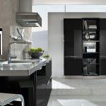 Schwarze Küche Mit Holzarbeitsplatte Schwarze Küche Zu Dunkel Schwarze Küche Bauernhaus Schwarze Küche Graue Wand Küche Schwarze Küche