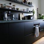 Schwarze Küche Küche Schwarze Küche Ohne Oberschränke Schwarze Küche Matt Ikea Schwarze Küche Nachteile Was Ist Eine Schwarze Küche