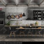 Schwarze Küche Roller Schwarze Küche Ohne Oberschränke Schwarze Küche Dekorieren Schwarze Küche Einrichten Küche Schwarze Küche
