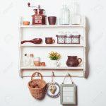 Regal Küche Küche Shelves In Rustic Style