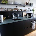 Küche Ohne Oberschränke Küche Single Küche Ohne Oberschränke Küche Ohne Hängeschränke Modern Schwarze Küche Ohne Oberschränke Küche Ohne Oberschränke Licht