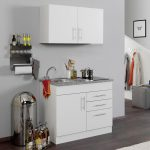 Singleküche Küche Singleküche 200 Cm Singleküche Grau Singleküche Mit E Geräten Singleküche Bei Ebay
